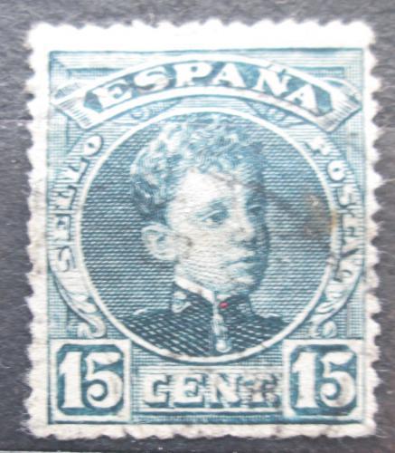 Poštovní známka Španìlsko 1901 Král Alfons XIII. Mi# 209