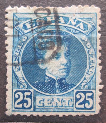 Poštovní známka Španìlsko 1901 Král Alfons XIII. Mi# 211