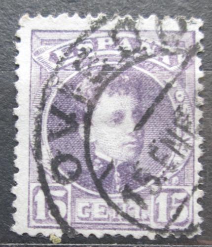 Poštovní známka Španìlsko 1902 Král Alfons XIII. Mi# 218 a