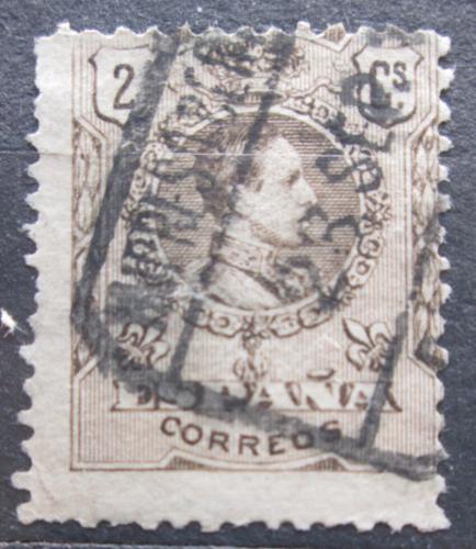 Poštovní známka Španìlsko 1909 Král Alfons XIII. Mi# 231 A