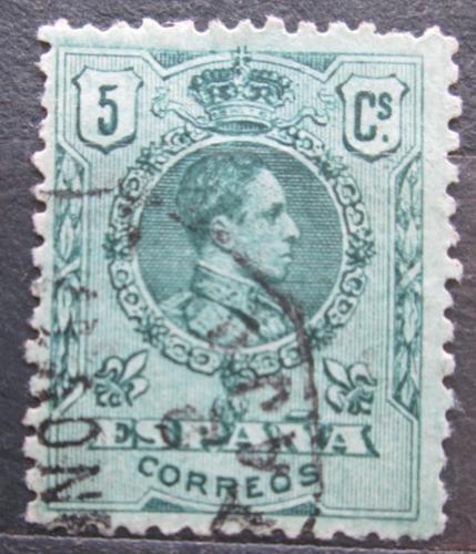 Poštovní známka Španìlsko 1909 Král Alfons XIII. Mi# 232 A a