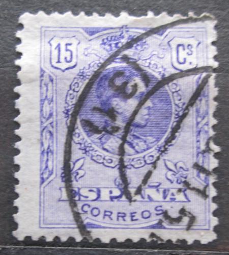 Poštovní známka Španìlsko 1909 Král Alfons XIII. Mi# 234 A