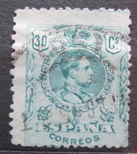 Poštovní známka Španìlsko 1910 Král Alfons XIII. Mi# 237 A a