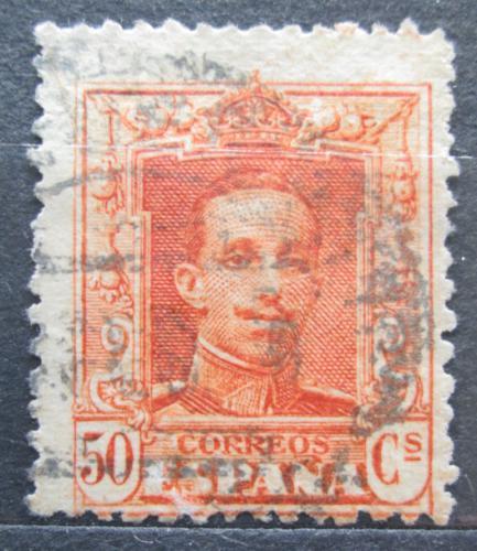 Poštovní známka Španìlsko 1922 Král Alfons XIII. Mi# 293