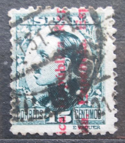 Poštovní známka Španìlsko 1931 Král Alfons XIII. pøetisk Mi# 574