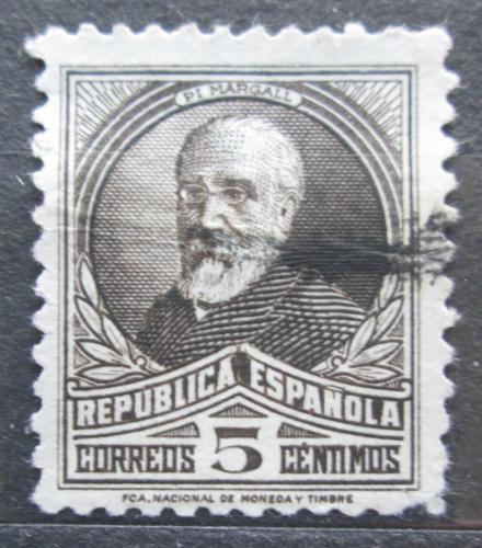 Poštovní známka Španìlsko 1931 Francisco Pi y Margall, politik Mi# 618 I A