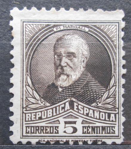 Poštovní známka Španìlsko 1931 Francisco Pi y Margall, politik Mi# 618 I A Kat 6€