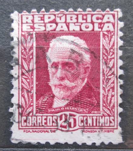 Poštovní známka Španìlsko 1931 Pablo Iglesias Mi# 622 I A