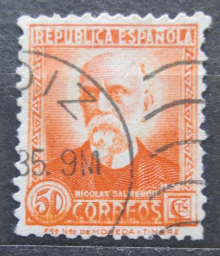 Poštovní známka Španìlsko 1932 Prezident Nicolás Salmerón Mi# 625 II A
