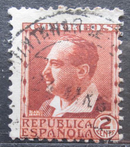 Poštovní známka Španìlsko 1932 Vicente Blasco Ibáòez, spisovatel Mi# 617 II A
