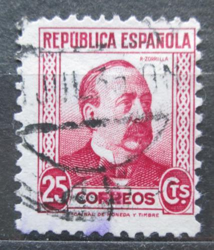 Poštovní známka Španìlsko 1933 Manuel Ruiz Zorrilla, politik Mi# 630