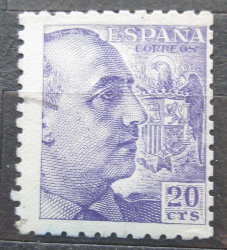 Poštovní známka Španìlsko 1939 Generál Franco Mi# 844