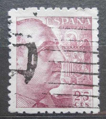 Poštovní známka Španìlsko 1939 Generál Franco Mi# 845