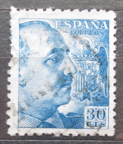 Poštovní známka Španìlsko 1939 Generál Franco Mi# 846