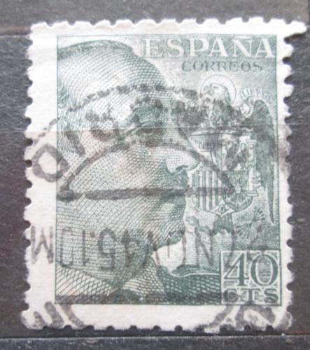 Poštovní známka Španìlsko 1939 Generál Franco Mi# 847