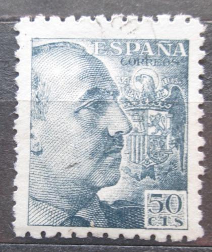 Poštovní známka Španìlsko 1939 Generál Franco Mi# 849