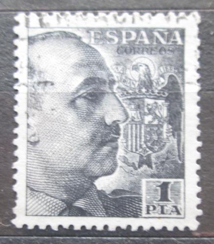 Poštovní známka Španìlsko 1939 Generál Franco Mi# 852