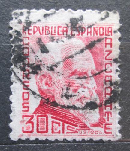 Poštovní známka Španìlsko 1935 Gumersindo de Azcárate, filozof Mi# 638