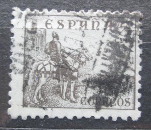 Poštovní známka Španìlsko 1937 Cid na koni Mi# 766