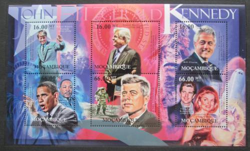Poštovní známky Mosambik 2012 Ameriètí politici Mi# 5554-59 Kat 14€