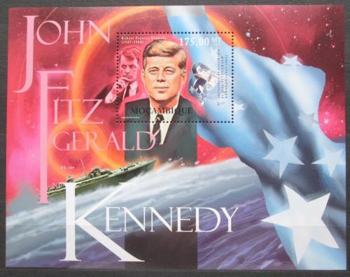 Poštovní známka Mosambik 2012 Prezident J. F. Kennedy Mi# Block 597 Kat 10€