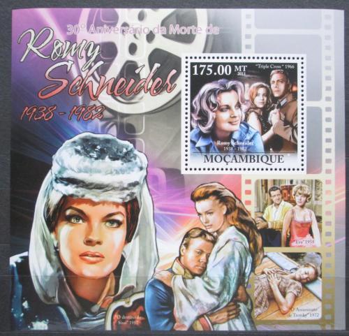 Poštovní známka Mosambik 2011 Romy Schneider, hereèka Mi# Block 578 Kat 10€