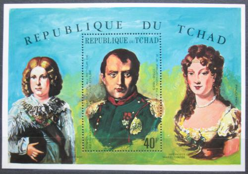 Poštovní známka Èad 1971 Napoleon Bonaparte Mi# Block 17 A Kat 10€