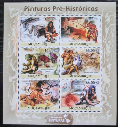 Poštovní známky Mosambik 2011 Život v pravìku Mi# 5079-84 Kat 14€