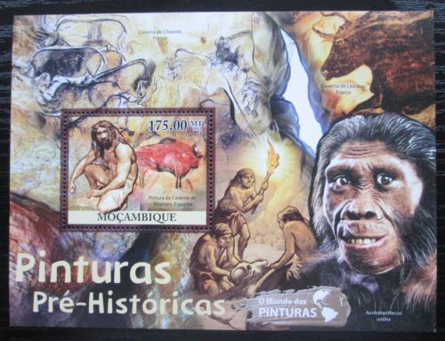 Poštovní známka Mosambik 2011 Život v pravìku Mi# Block 527 Kat 10€