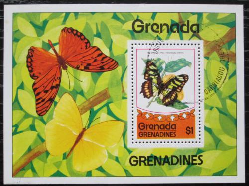 Poštovní známka Grenada Gren. 1975 Motýli Mi# Block 10
