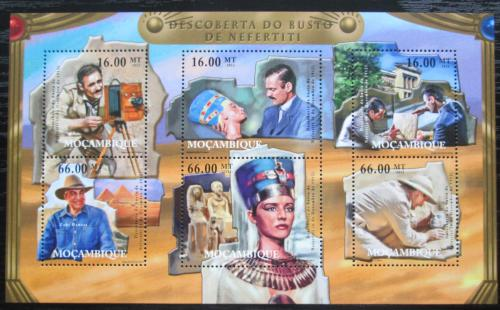 Poštovní známky Mosambik 2012 Královna Nefertiti Mi# 5547-52 Kat 14€