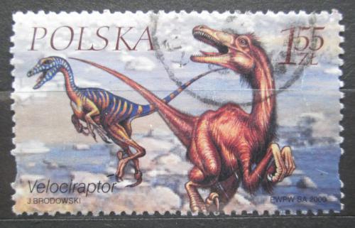 Poštovní známka Polsko 2000 Velociraptor Mi# 3816