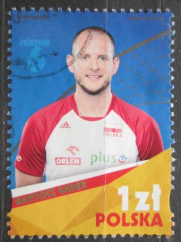 Poštovní známka Polsko 2018 Bartosz Kurek, volejbalista Mi# 5065