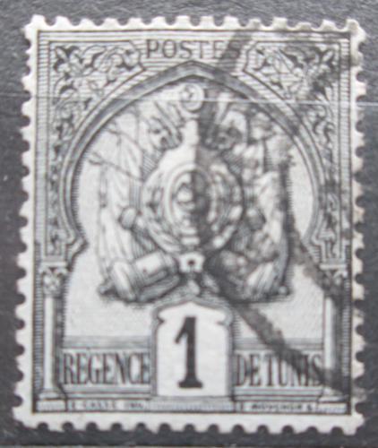 Poštovní známka Tunisko 1889 Státní znak Mi# 9