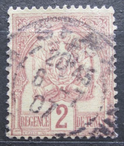 Poštovní známka Tunisko 1888 Státní znak Mi# 10