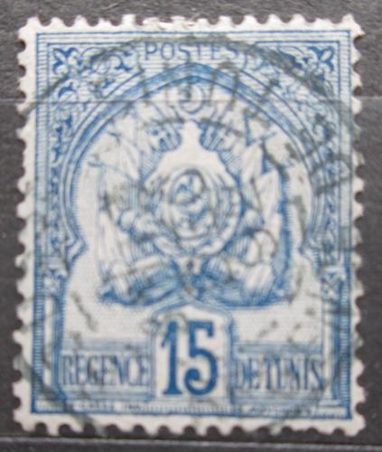 Poštovní známka Tunisko 1888 Státní znak Mi# 12