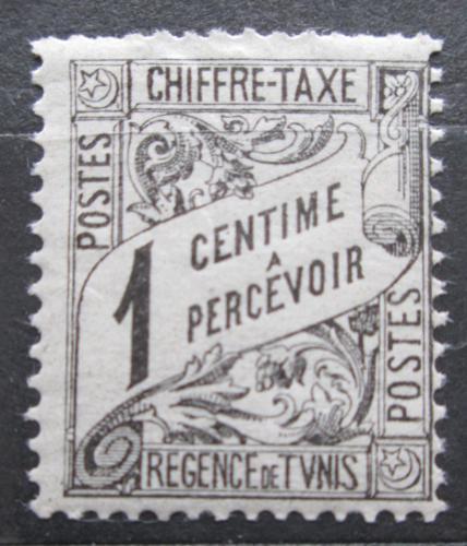 Poštovní známka Tunisko 1901 Nominál, doplatní Mi# 26