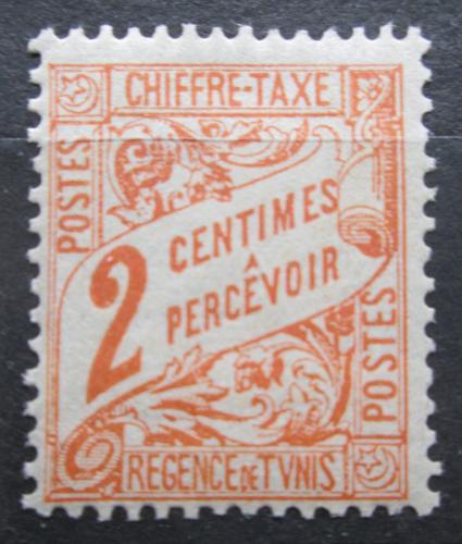 Poštovní známka Tunisko 1901 Nominál, doplatní Mi# 27