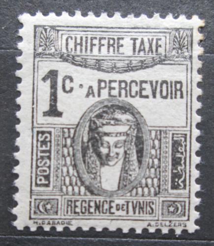Poštovní známka Tunisko 1923 Sfinga, doplatní Mi# 37