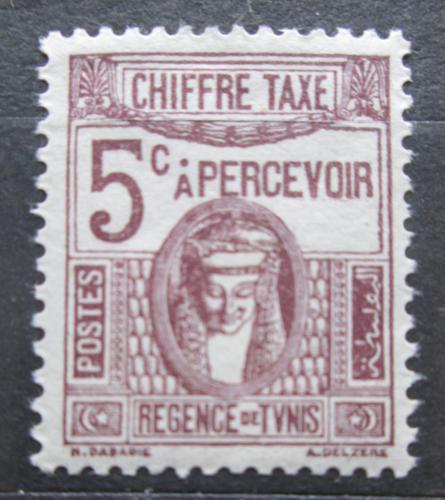 Poštovní známka Tunisko 1923 Sfinga, doplatní Mi# 39