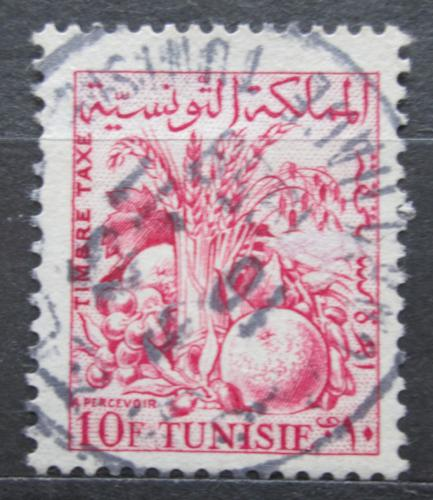 Poštovní známka Tunisko 1957 Zemìdìlské produkty, doplatní Mi# 72
