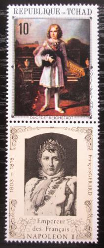 Poštovní známka Èad 1971 Napoleon Bonaparte  Mi# 373 A