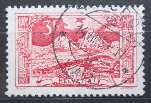 Poštovní známka Švýcarsko 1918 Krajina Mi# 142