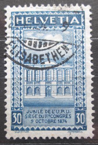 Poštovní známka Švýcarsko 1924 UPU, 50. výroèí Mi# 193 A Kat 8€