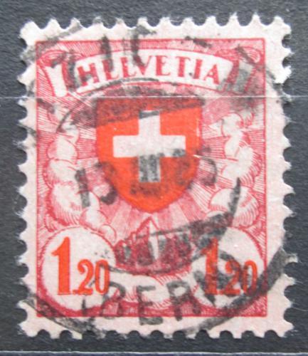 Poštovní známka Švýcarsko 1924 Státní znak Mi# 195 x Kat 7€