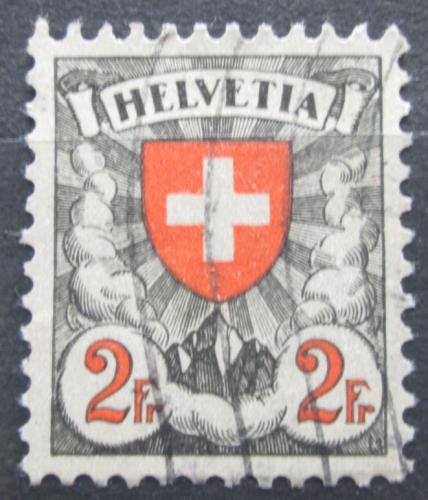 Poštovní známka Švýcarsko 1924 Státní znak Mi# 197 x Kat 8€