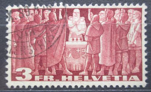 Poštovní známka Švýcarsko 1938 Výroèí Mi# 328 v Kat 15€