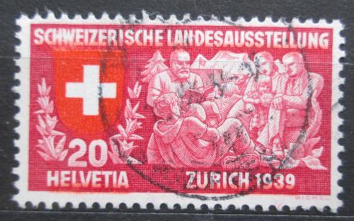 Poštovní známka Švýcarsko 1939 Národní výstava Mi# 336