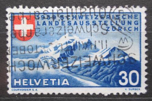 Poštovní známka Švýcarsko 1939 Národní výstava Mi# 337