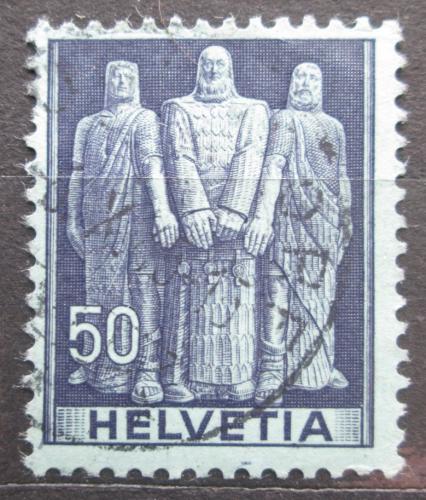 Poštovní známka Švýcarsko 1941 Pøísaha tøech kantonù Mi# 377